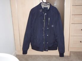 Mens navy casual jacket