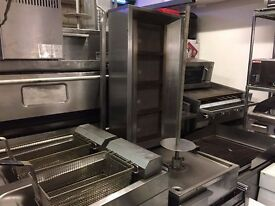 CATERING COMMERCIAL USED SECOND HAND ARCHWAY DONER KEBAB MACHINE FAST FOOD RESTAURANT BBQ KITCHEN
