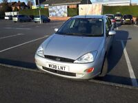 Ford focus, 2000, very good condition, MOT 06.2017