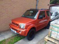 2001 suzuki jimney jlx 1300