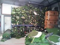 Artificial grass off cuts, massive selection from only £20