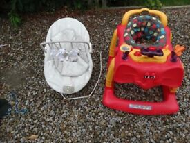 Mamas and Papas/ Fisher Price Bouncers and jumperoo