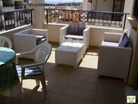 Costa Blanca, 2 bedroom, 2nd floor apt, English TV, Wi-Fi, A/C from £115 pw 4 persons (ref SM038)