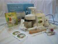 Greenpower Kempo Juice Extractor - makes juice, sorbet, wheat grass, soya drink, tofu, rice cake etc