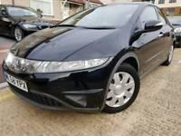 2008 Honda Civic 1.4 i-DSi SE **only 85,000**FShistory*FULL 1 YEAR MOT*Cheap insurance&tax**