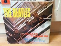 THE BEATLES 1963 LP ALBUM - PLEASE PLEASE ME