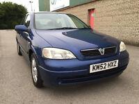 Vauxhall Astra 2.0 DTi 16v Elegance 5dr (Blue) 2002