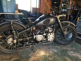M72/bmwr71 classic motorcycle