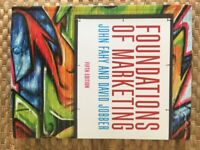 Foundations of marketing, Fifth Edition - Fahy and Jobber