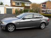 1 DRIVER FROM NEW BMW 3 SERIES 3.0 DIESEL 6 SPEED 2009 OFFERS OVER £5 K