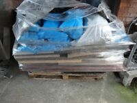 Pallet of Scrap pieces of Plywood and Timber
