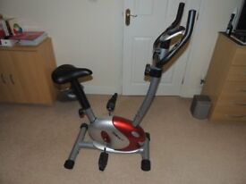 Exercise Bike as new.