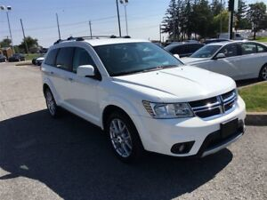 2017 Dodge Journey GT / AWD / LEATHER /7 PASS/ 19 ALLOY RIMS