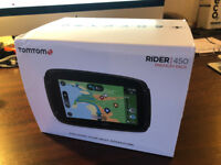 TomTom Rider 450 Motorcycle Sat Nav - Premium Pack