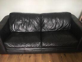 3+2 faux leather suite, good condition £100