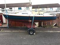 19' sailing boat