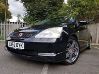 EXCELLENT CONDITION Honda Civic Type R 2xkeys MUST SEE. Only 9200 miles.