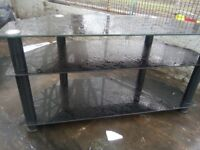 Glass table for TV good condition £15