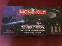 Monopoly Star Trek Next Generation Collectors Edition