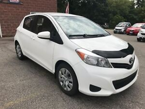 2013 Toyota Yaris LE/ONE OWNER/NO ACCIDENT/SAFETY/WARRANTY INCLU