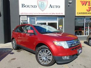 2010 Ford Edge Limited-Leather,Heated Seats,Pano-Roof,Chr Wheels