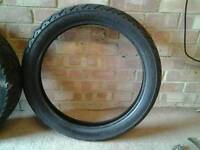 Yamaha 535 virgo front and rear tyres