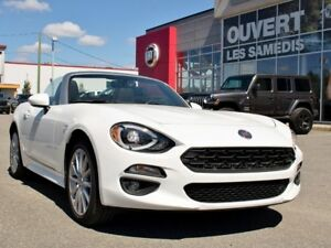 2017 Fiat 124 Spider LUSSO *100% FUN* NAVIGATION * RABAIS DEMO!