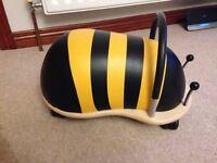 Wheely Bug Bumblebee Ride on.