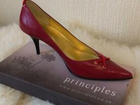 Sassy red high heel shoes