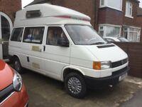 VW T4 Campervan. Autohomes Koncord petrol mot 5th May 18