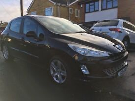 2008 Peugeot 308 HDI. With Private Plate lovely condition MOT December 2018 drives fantastic.