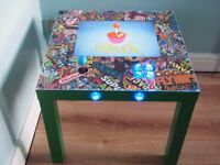 ARCADE COFFEE TABLE WITH BUILT IN SCREEN & GAMES