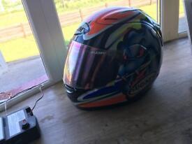 Suomy motorcycle crash helmet