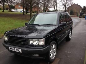 2000 Rangerover P38 Black Twin Exhaust