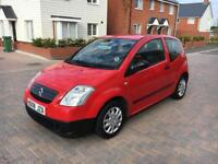 2008 Citroen c2 1.1 3 door red 84.000 miles 1 owner 1 years m.o.t