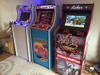'Tallboy' Retro Arcade Machine - Designed & Built to your specification
