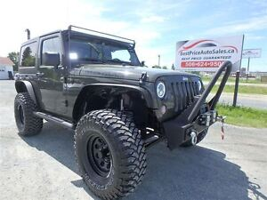 2015 Jeep Wrangler JACKED! LIFTED! ONE OF A KIND!