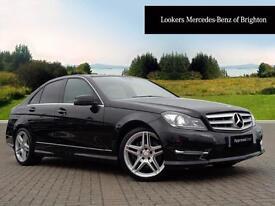 Mercedes-Benz C Class C350 CDI BLUEEFFICIENCY AMG SPORT (black) 2014-01-18