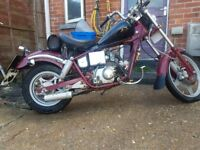 Kinroad 50cc geared moped