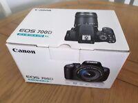 Brand new Canon 700D