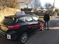 Female driving instructor at Around the Bend Driving School Bath