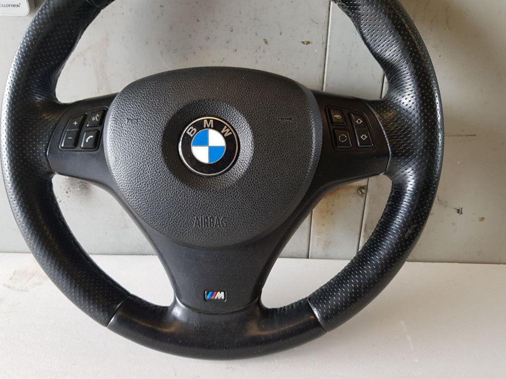 BMW E90 E91 E92 3 SERIES GENUINE COMPLETE M SPORT STEERING ...