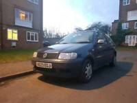 Vw Polo 1.4 2001 with 1 year MOT