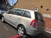 Vauxhall Zafira 2009. Mot. Tax