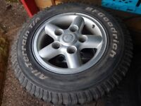 land rover defender wheels and tyres x5