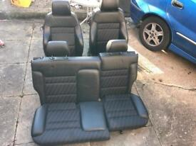 A3 3dr Half leather Seats