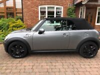 Mini Cooper S Convertible. Excellent condition. Low Milage. Chilli Pack. Full Piped Leather Seats.