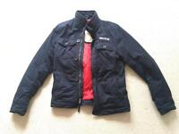 Mens Hollister Jacket, Navy Blue, Medium, worn twice