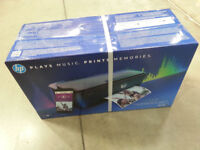 BRAND NEW HP AMP 130 PRINTER*BUILT IN BLUETOOTH SPEAKER*ALL IN ONE PRINTER*