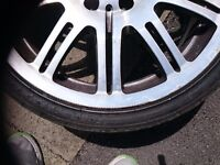 Genuine bmw m3 alloy wheels